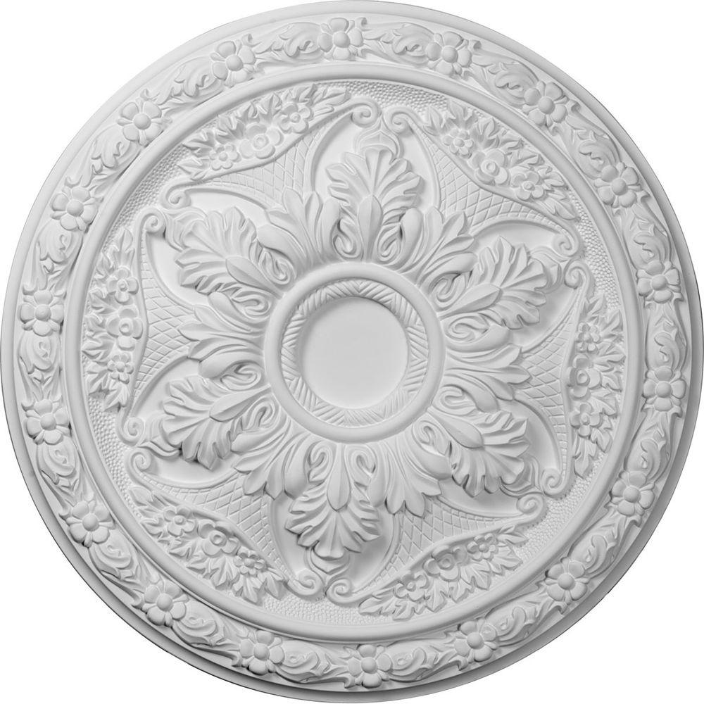 1-5/8 in. x 20 in. Polyurethane Baile Ceiling Medallion