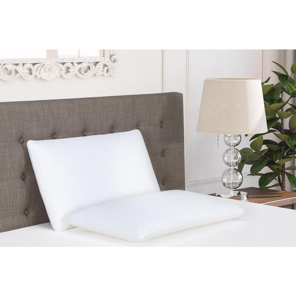 signature sleep classic memory foam king size pillow 6040549 the home depot. Black Bedroom Furniture Sets. Home Design Ideas