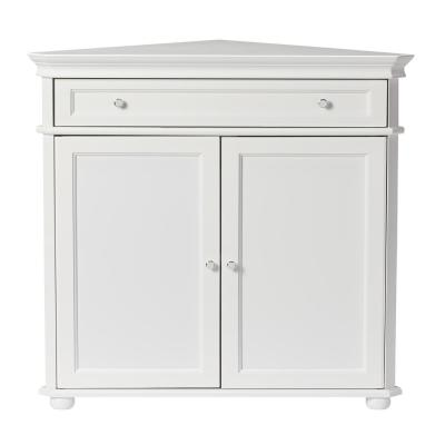 Hampton Harbor White Storage Cabinet