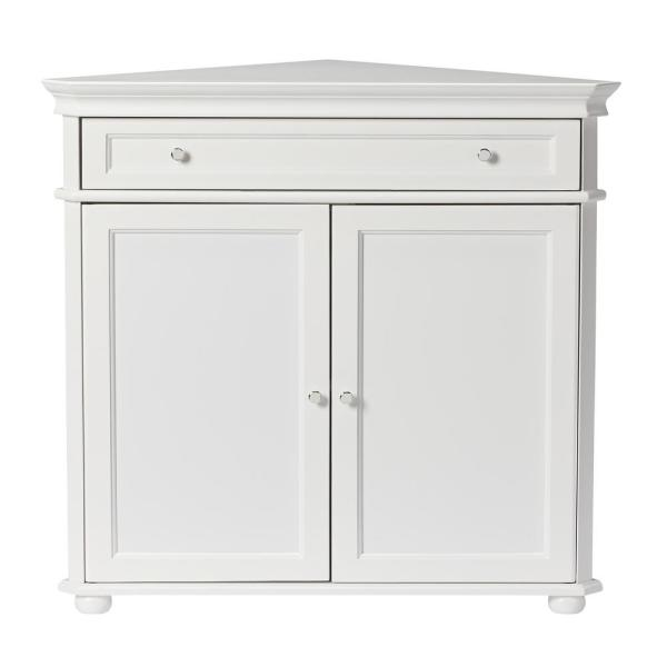 Home Decorators Collection Hampton Harbor White Storage Cabinet 3448700410