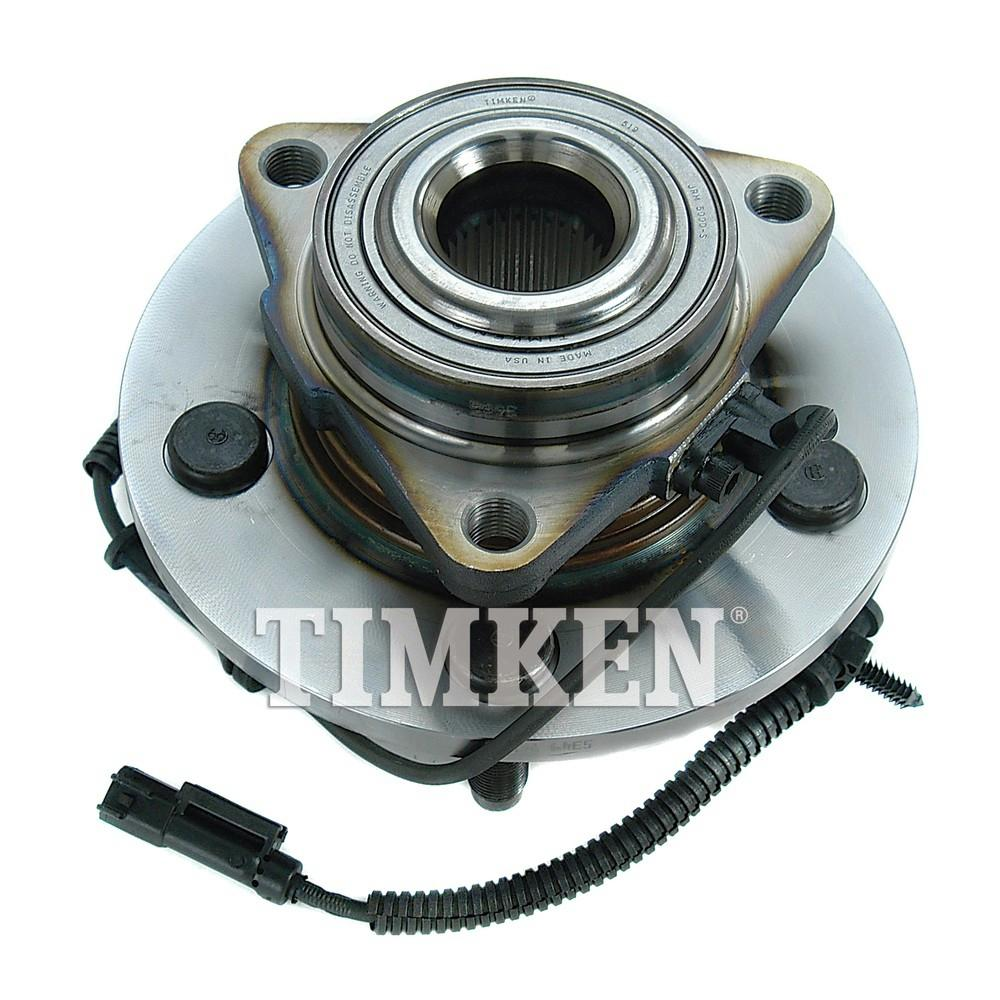 Timken Wheel Bearing And Hub Assembly Fits 2006 2008 Dodge Ram 1500