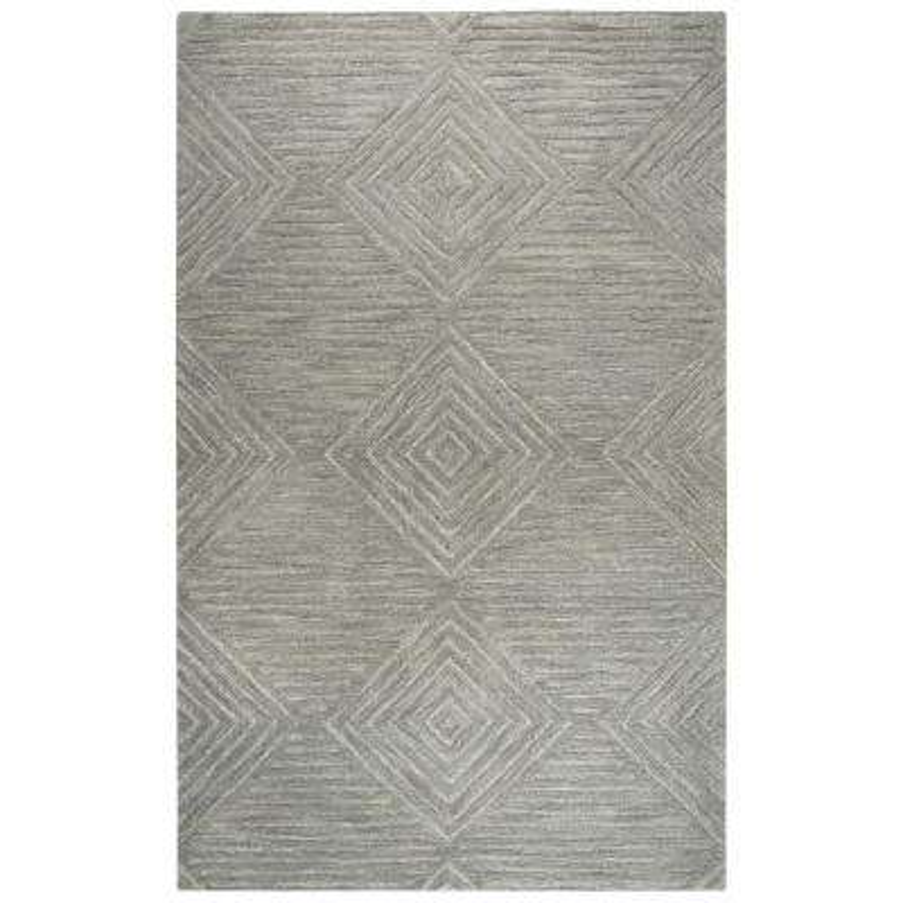 Idyllic Gray 9 ft. x 12 ft. Rectangle Area Rug