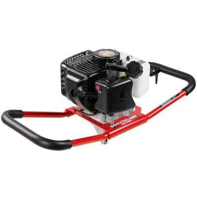 12 in. 43 cc 1-Man Gas Earth Auger Powerhead