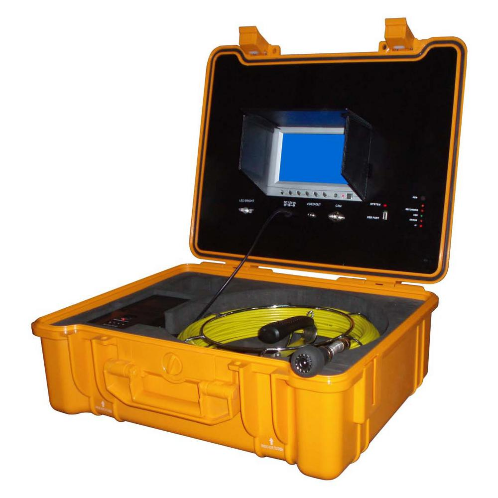 FORBEST 130 ft. Color Sewer/Drain/Pipe Inspection Camera
