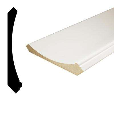 1 in. x 5-15/16 in. x 96 in. Primed MDF Crown Moulding