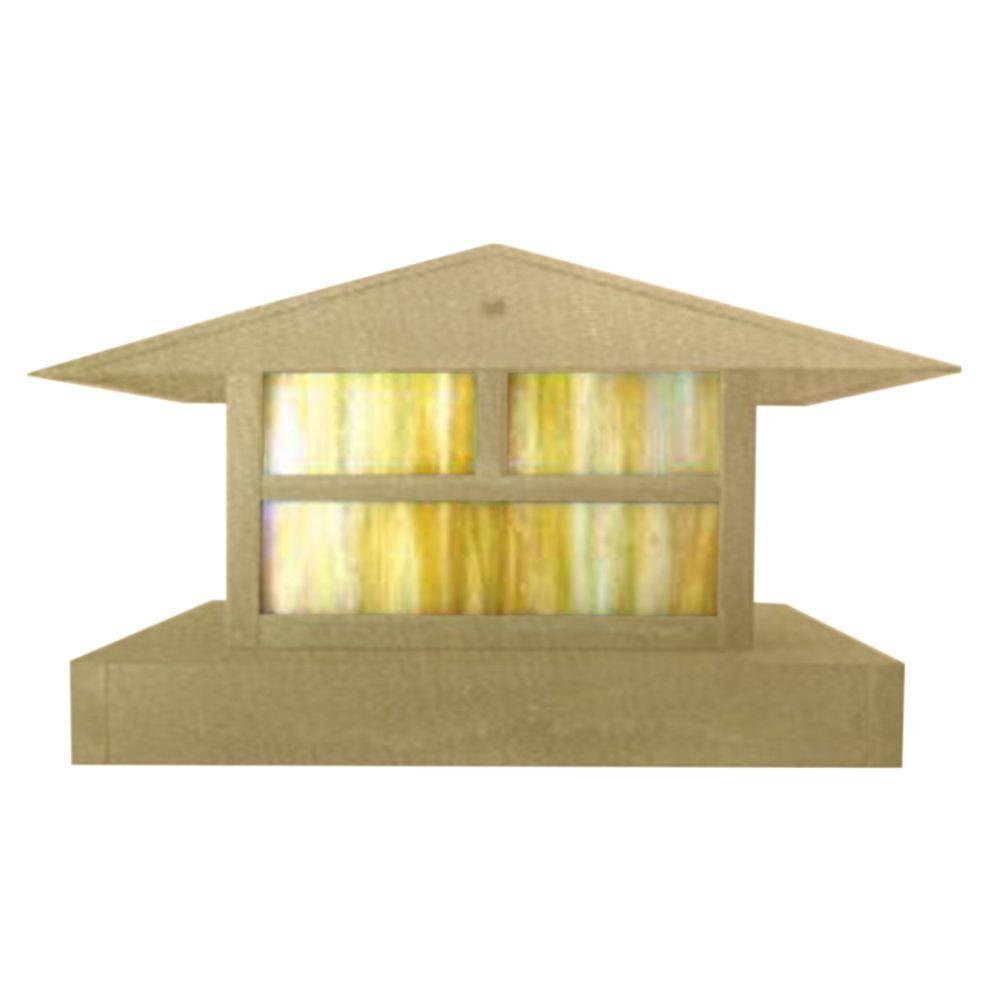 Filament Design Centennial 1-Light Outdoor LED Acid Treated Brass Area Light