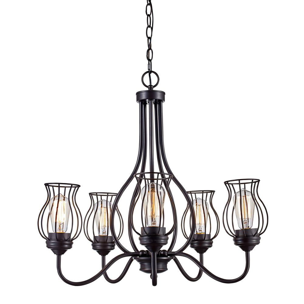 Bel air lighting congress 5 light rubbed oil bronze chandelier bel air lighting congress 5 light rubbed oil bronze chandelier with wire shades mozeypictures Choice Image