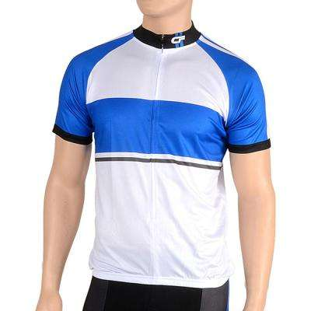 Triumph Men's Medium Blue Cycling Jersey