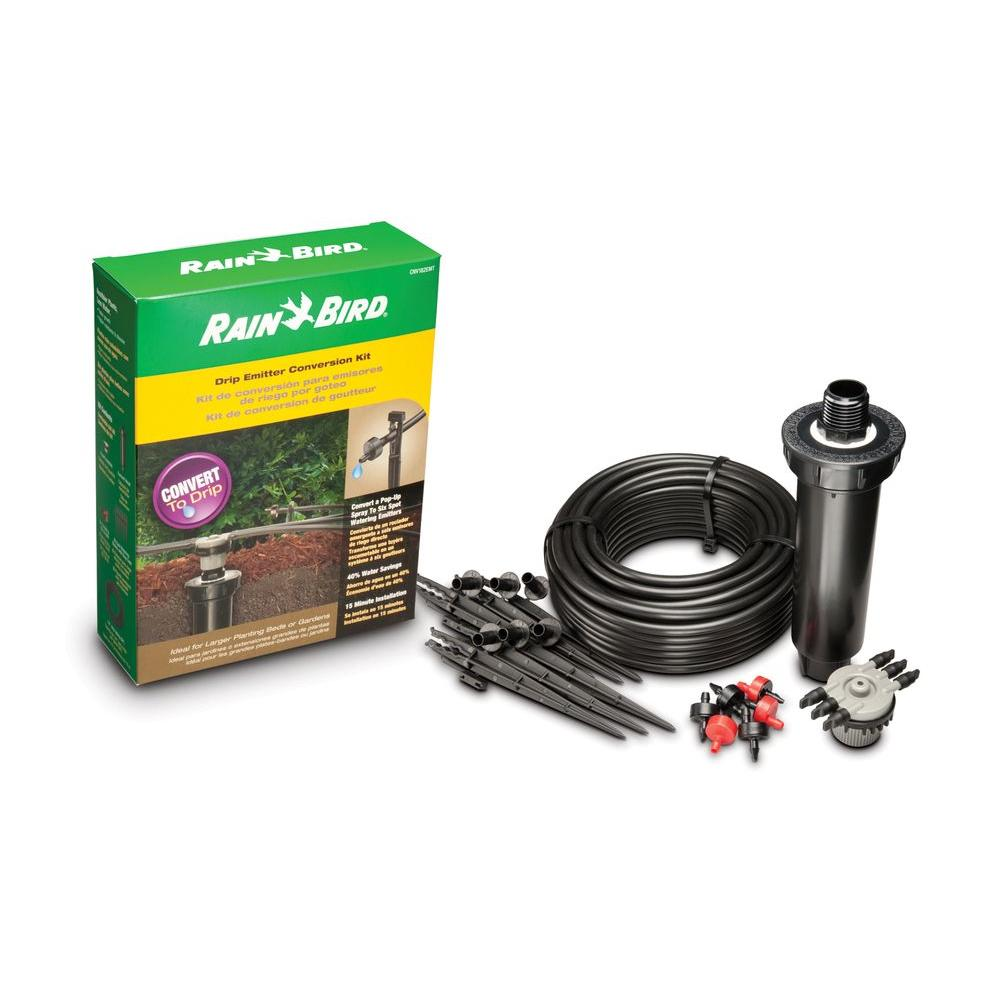 Rain Bird 1800 Pop-Up to Drip 6-Emitter Drip Irrigation Conversion Kit