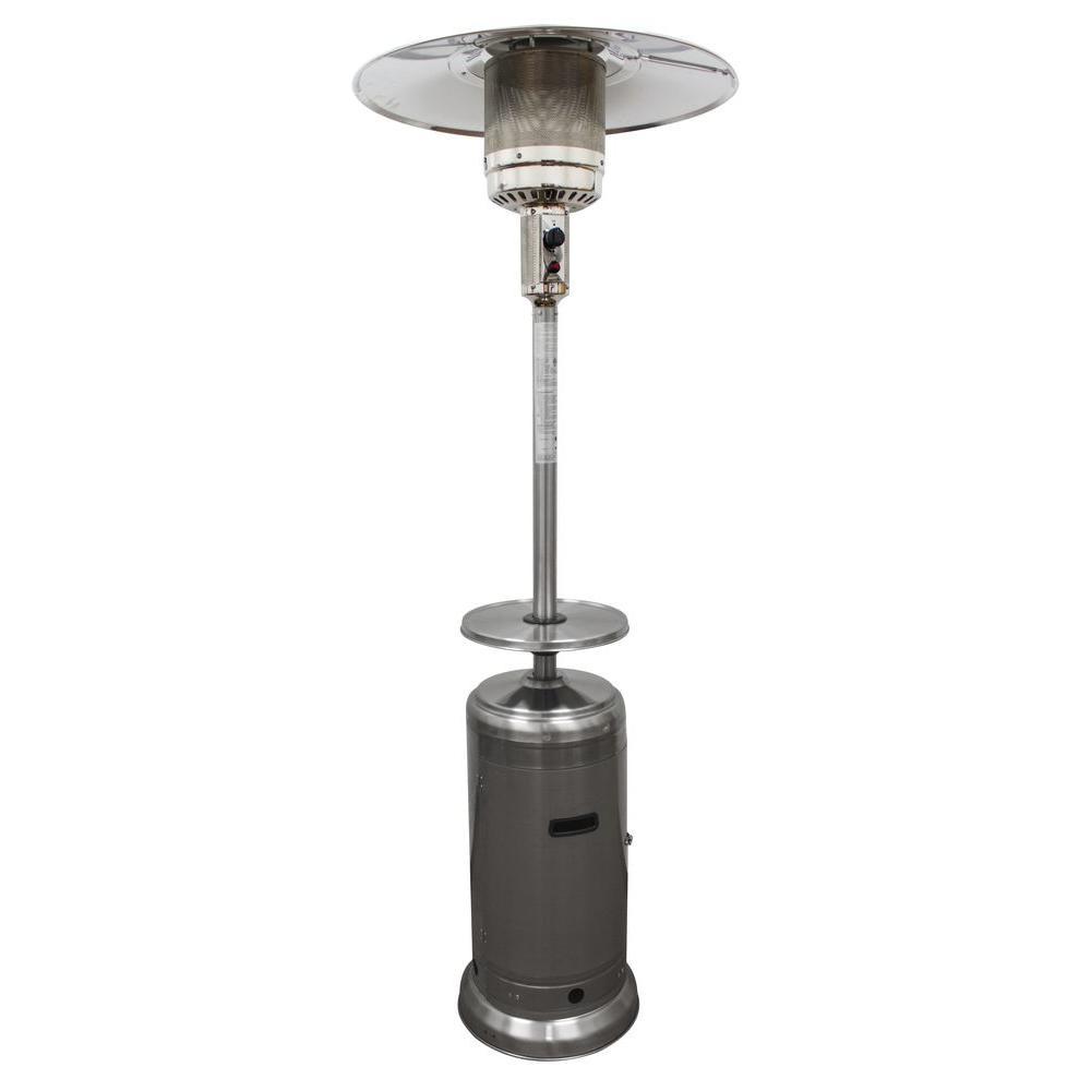 48,000 BTU Stainless Steel Propane Patio Heater