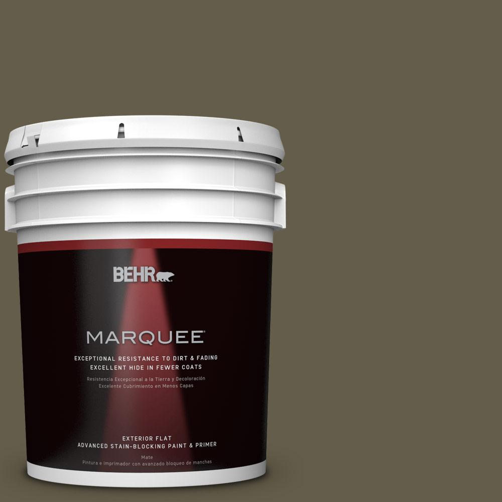 BEHR MARQUEE Home Decorators Collection 5-gal. #HDC-FL13-9 Squirrel's Nest Flat Exterior Paint