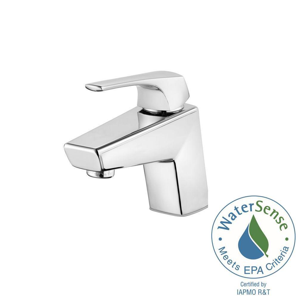 Arkitek Single Hole Single-Handle Bathroom Faucet in Polished Chrome
