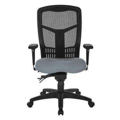 ProGrid High Back Grey Mesh Managers Chair