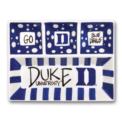 Duke Ceramic 4 Section Tailgating Serving Platter