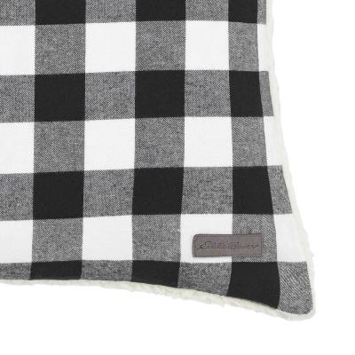 Cabin Plaid 20 in. x 20 in. Throw Pillow