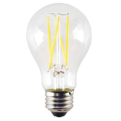 ProLED Filament LED 60-Watt Equivalent Warm White Clear A19 Dimmable LED Antique Vintage Style E26 Light Bulb