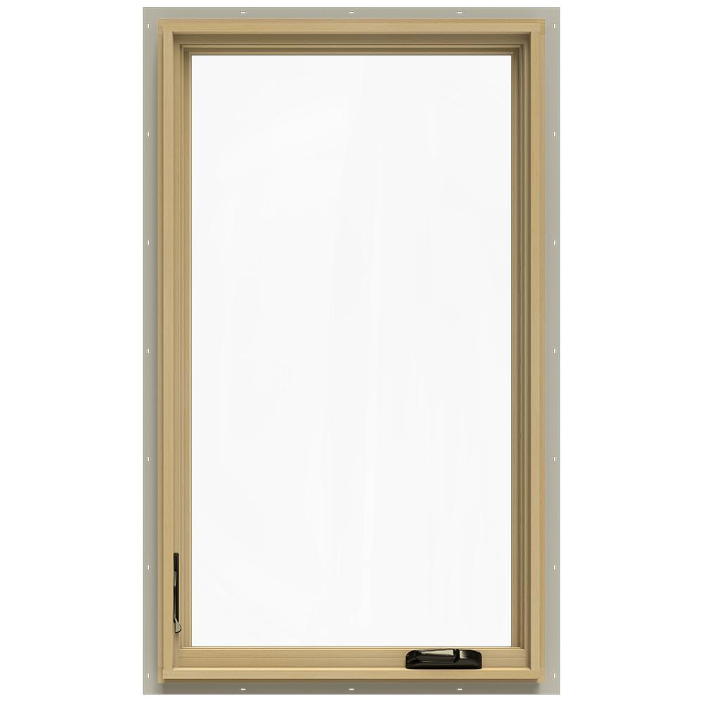 28.75 in. x 48.75 in. W-2500 Left-Hand Casement Wood Window