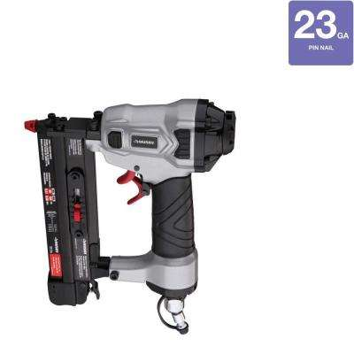Pneumatic 1 in. x 23-Gauge Headless Pin Nailer