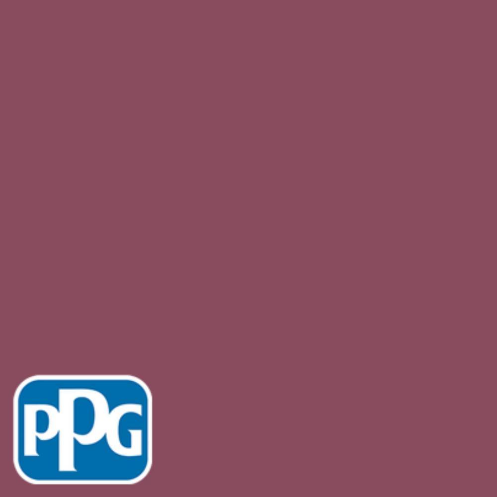 PPG TIMELESS 8 oz. #HDPPGR21D Royal Cranberry Eggshell Interior/Exterior Paint Sample