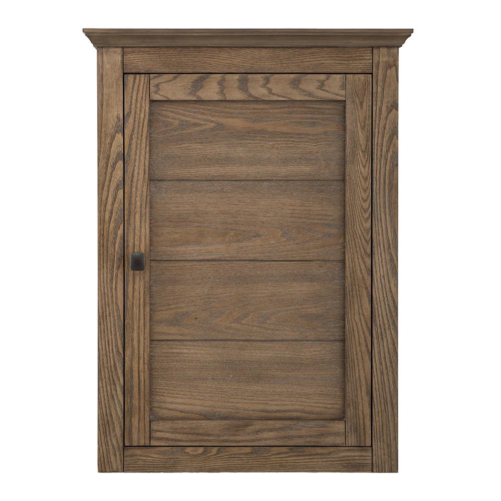 Stanhope 22 in. W x 30 in. H Wall Cabinet in Reclaimed Oak