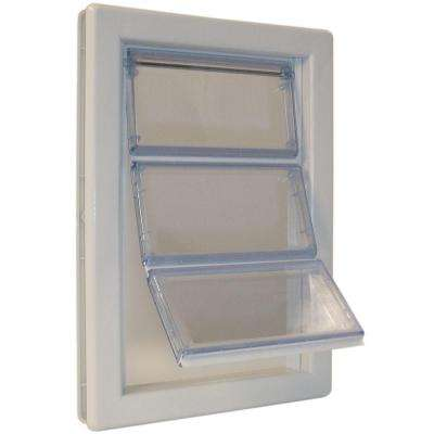 6-5/8 in. x 11-1/4 in. Medium AirSeal Pet Door