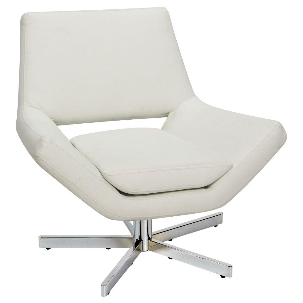 Strange Yield White Faux Leather Office Chair Squirreltailoven Fun Painted Chair Ideas Images Squirreltailovenorg
