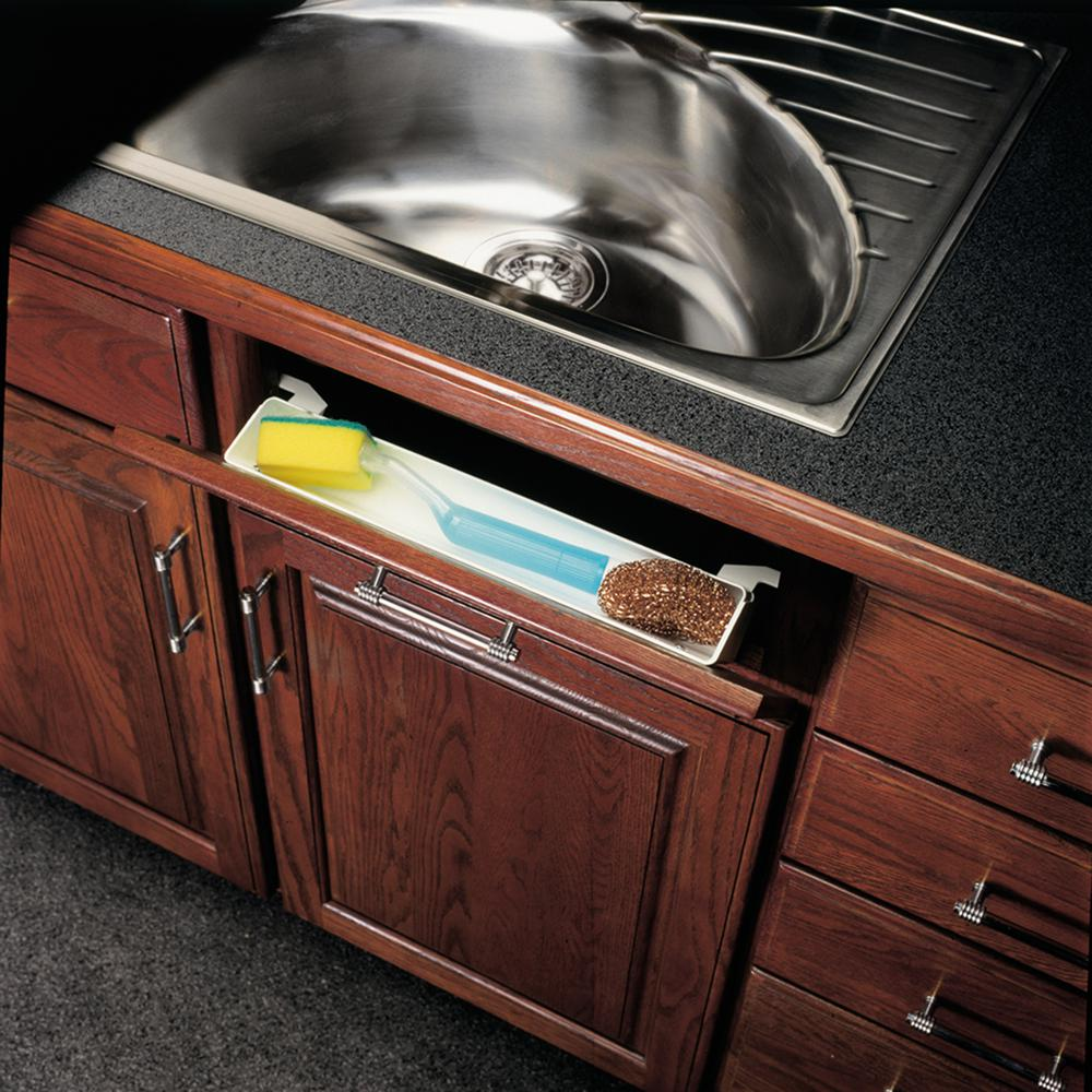 Kitchen Bathroom Under Sink Front Tray Drawer Cabinet Tip