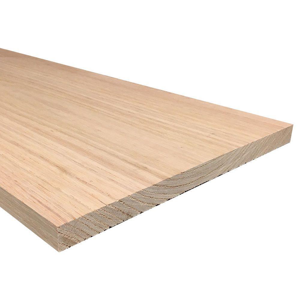 Weaber Weaber 1 in. x 12 in. x Random Length S4S Oak Board