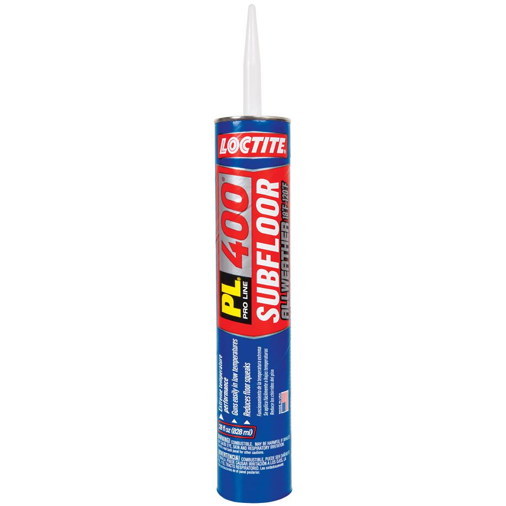 Loctite PL 400 28 fl. oz. All Weather Subfloor Construction Adhesive (12-Pack)