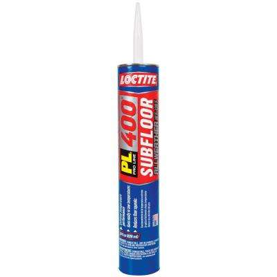 28 fl. oz. PL400 All Weather Subfloor Adhesive (12-Pack)