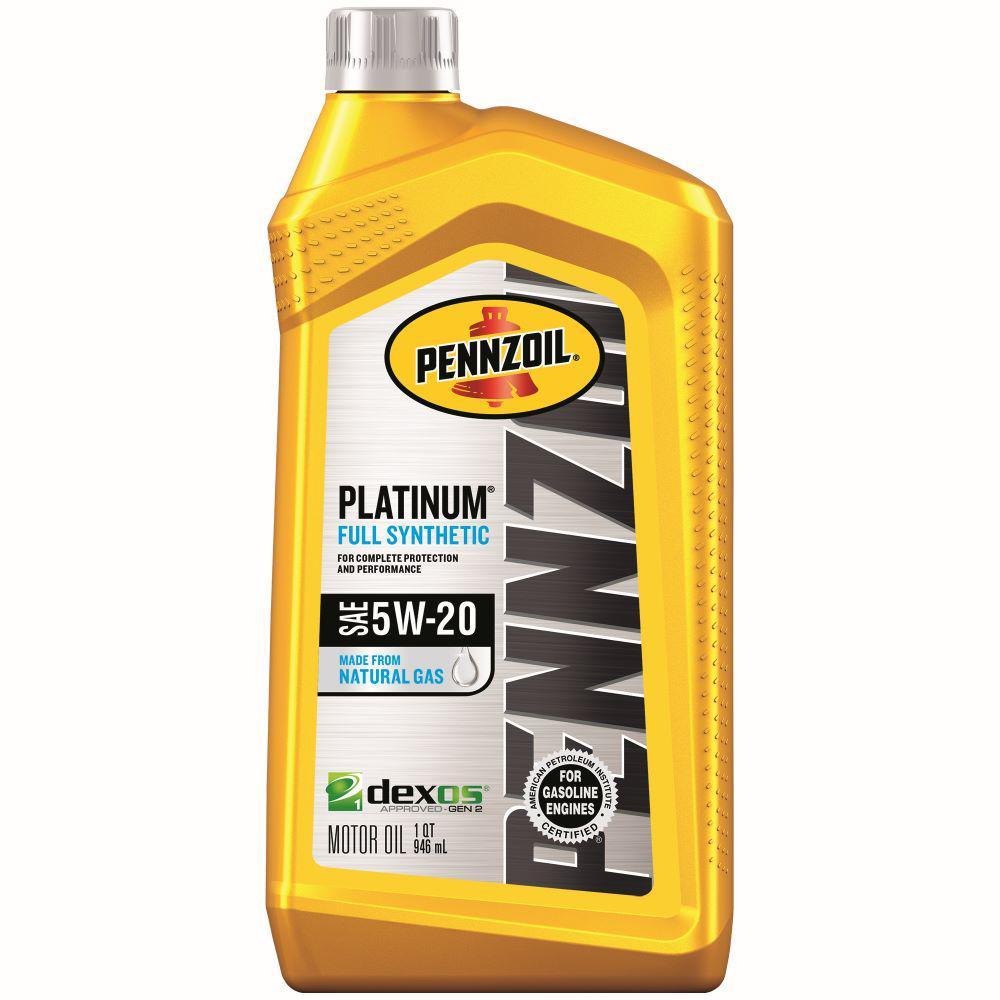 Pennzoil Near Me >> Pennzoil 1 Qt Sae 5w 20 Platinum Full Synthetic Motor Oil