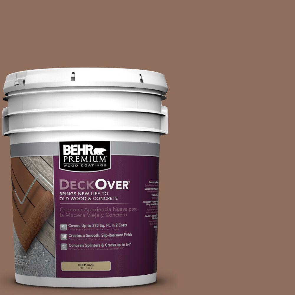 5 gal. #SC-148 Adobe Brown Wood and Concrete Coating