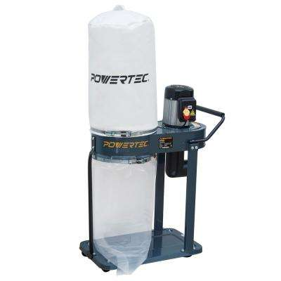 Portable Shop Dust Collector with 1 HP Motor 800 CFM