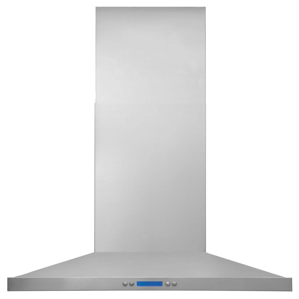 30 in. Wall Mount Chimney Range Hood in Stainless Steel