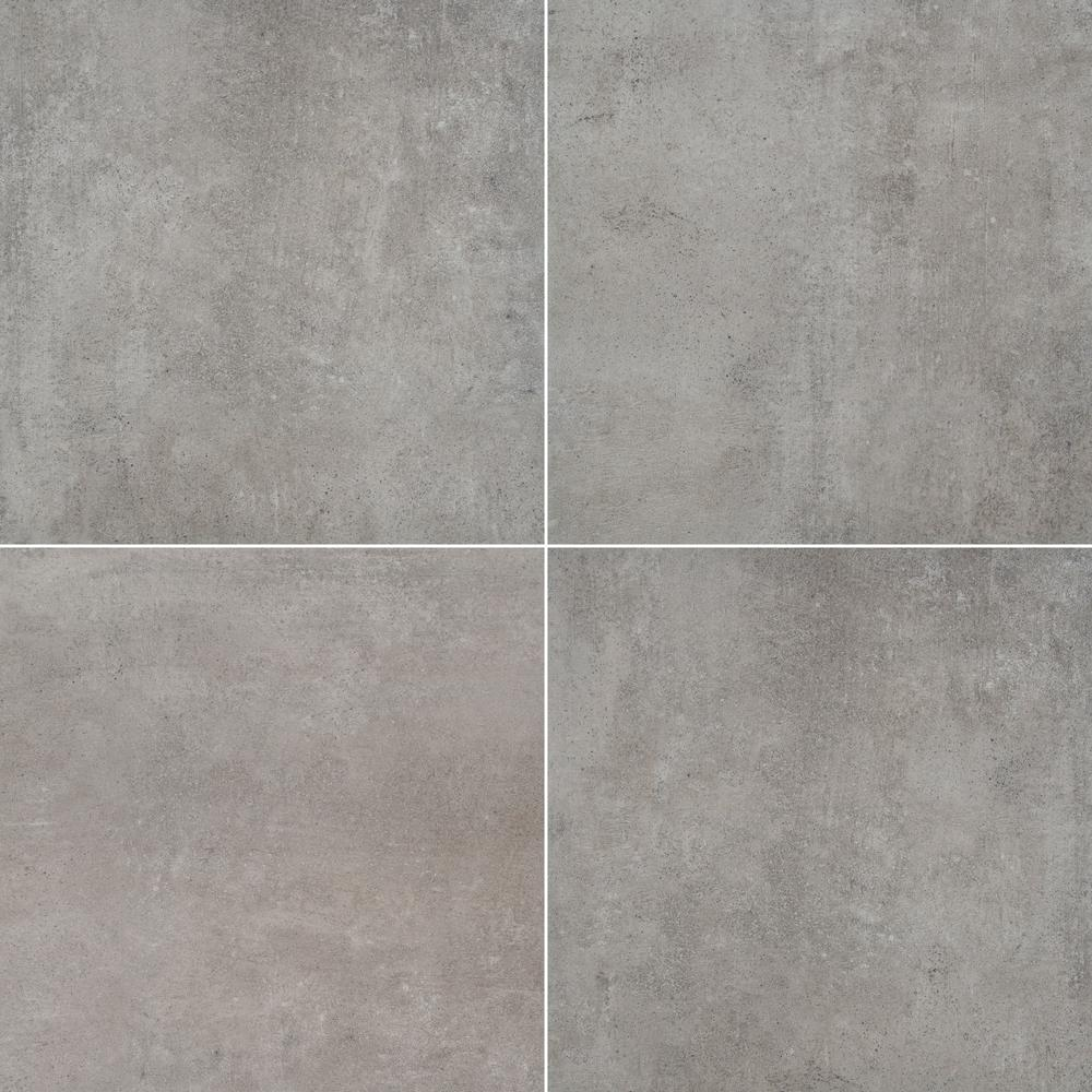 MSI Ontario D Grey 16 in. x 16 in. Glazed Porcelain Paver Tile (1.777 sq. ft.)