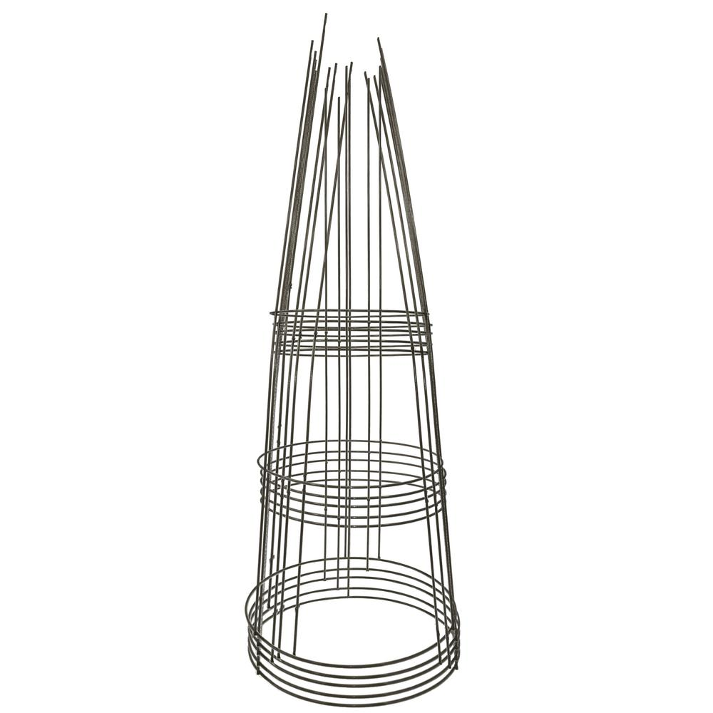 Gilbert & Bennett 42 in. Galvanized Tomato Cage (5-Pack)-901594A-5 ...