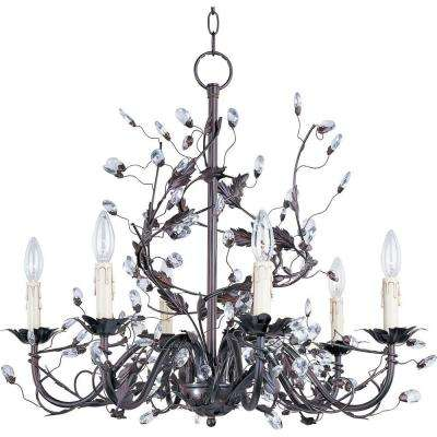 Elegante 6-Light Oil-Rubbed Bronze Chandelier