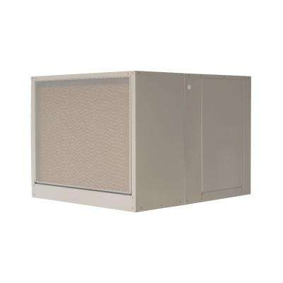 7000 CFM 240-Volt 2-Speed Down-Draft Roof 8 in. Media Evaporative Cooler for 2300 sq. ft. (with Motor)