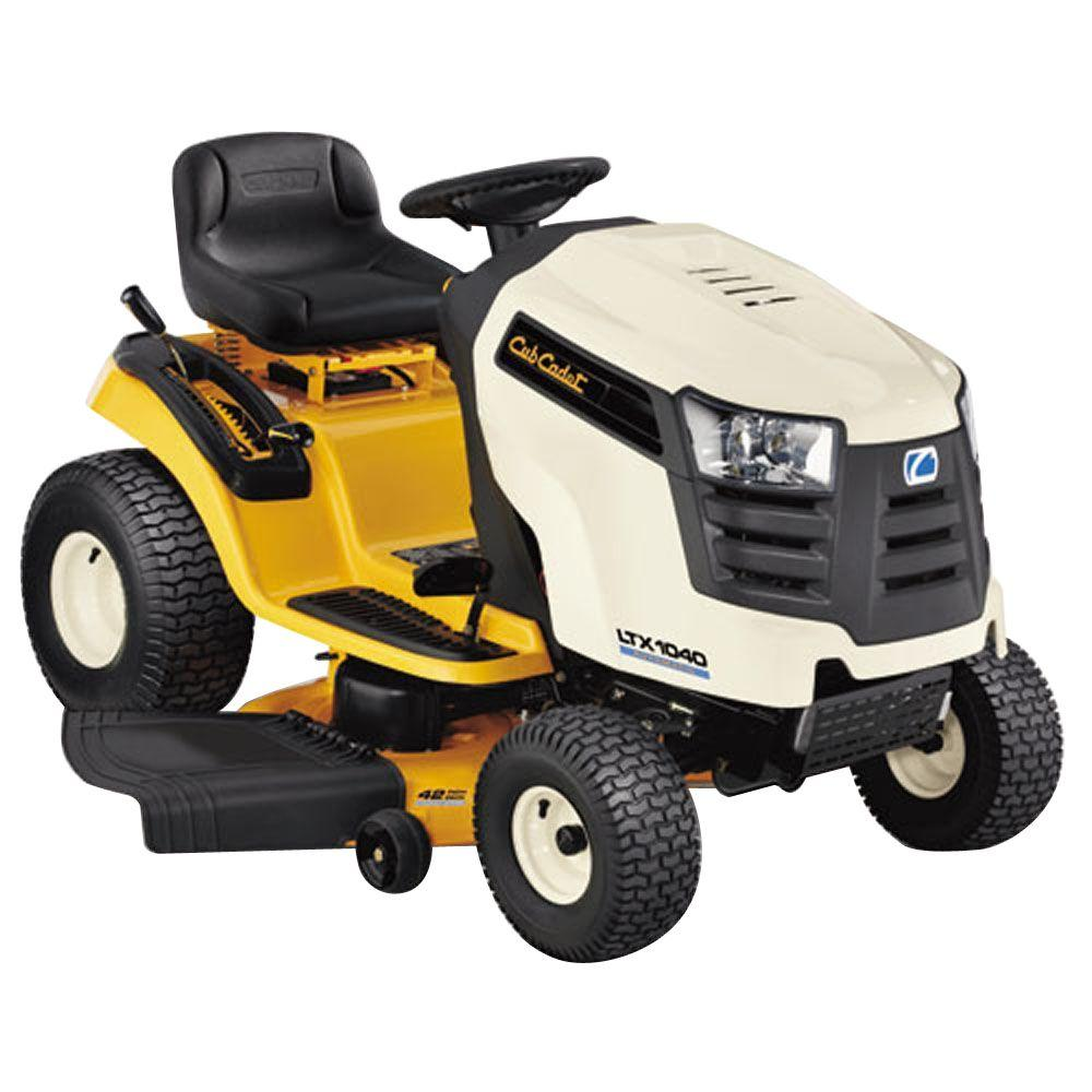 Cub Cadet LTX1040 42 in. 19 HP Kohler Courage Automatic Riding Lawn Mower - California Compliant