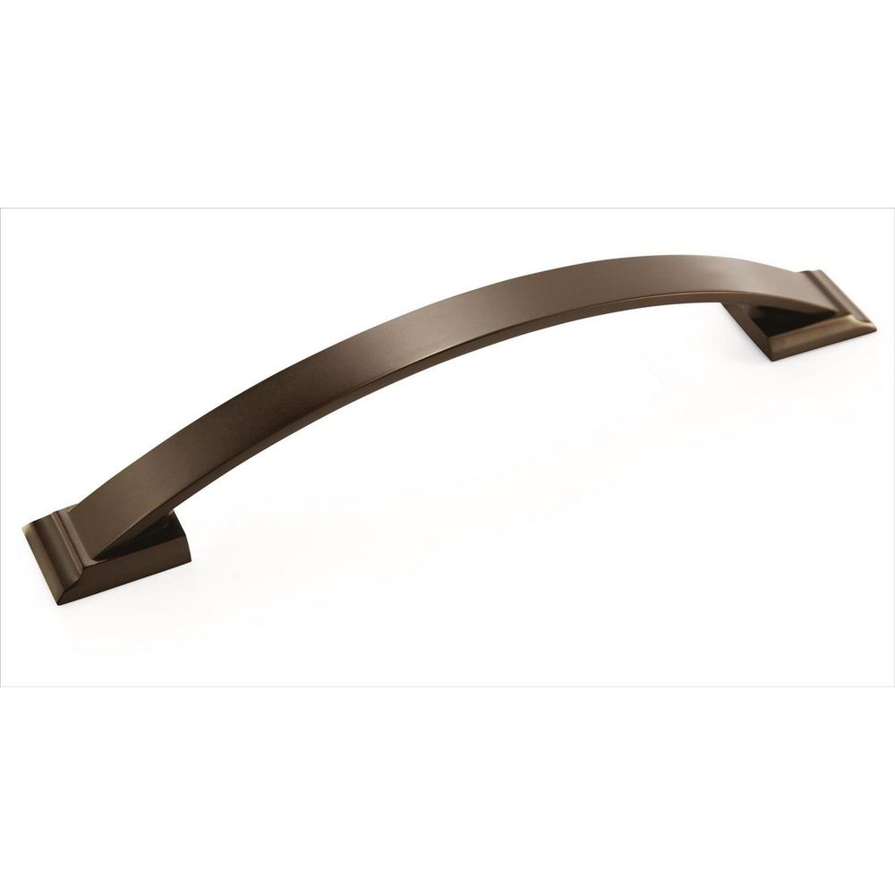 Candler 6-5/16 in. (160 mm) Center Caramel Bronze Cabinet Pull