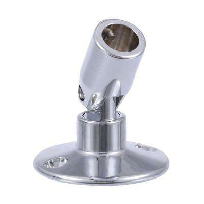 5/8 in. I.D. x 29/32 in. O.D. Adjustable Ceiling Bracket in Chrome