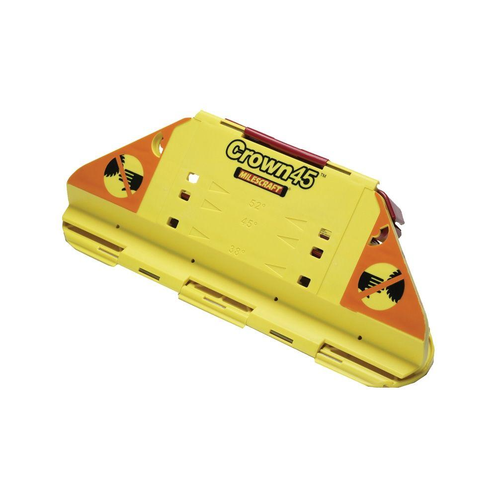 Milescraft Crown45 Crown Molding Jig For Miter Saws-1405