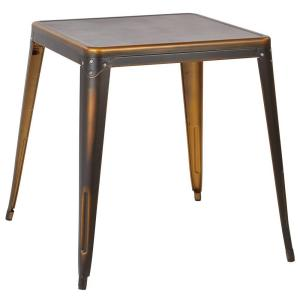 Bristow Antique Copper End/Side Table