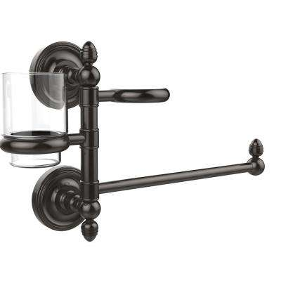Prestige Regal Collection Hair Dryer Holder and Organizer in Oil Rubbed Bronze