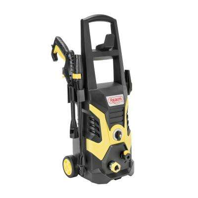 BY02-BCOH, Electric Pressure Washer, 2100 PSI, 1.75 GPM,13 Amp Yellow Black