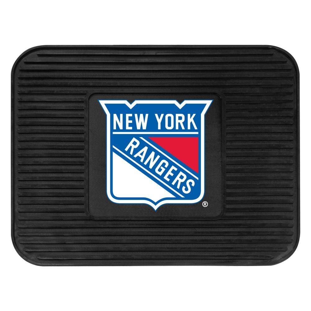 New York Rangers 14 in. x 17 in. Utility Mat
