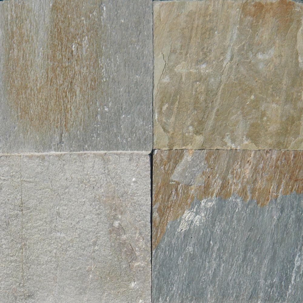 Horizon 12 in. x 12 in. Gauged Quartzite Floor and Wall