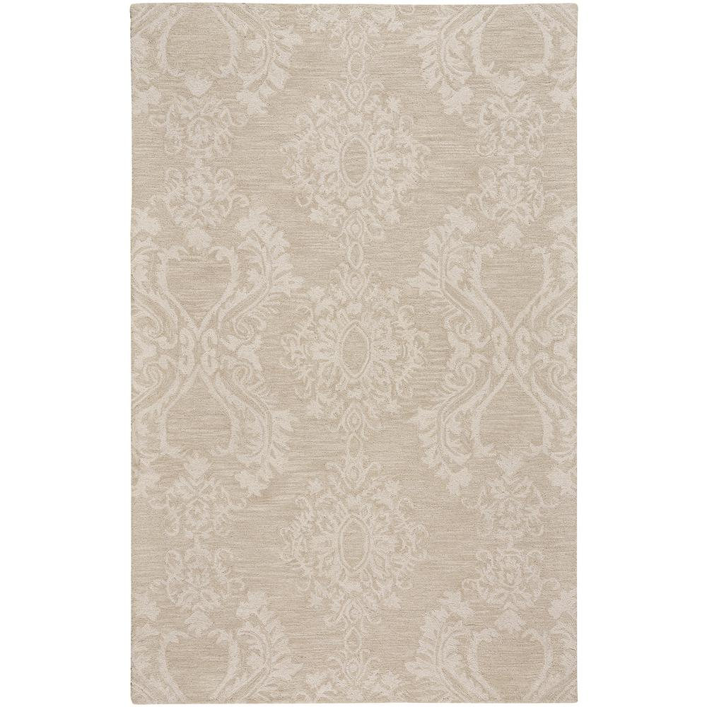 Capel Edna Beige 8 ft. x 10 ft. Area Rug The Edna style is a wool, transitional rug design from Capel Rugs. Edna Hand rugs have a hand tufted construction. Uniting quality materials with beautiful, handcrafted design. Practical yet indulgent, artisanal yet affordable, Capel rugs continues to be a favorite for families 100 years after their debut. We make rugs in our American factories and we also source rug weaving vendors from around the world to create a collection unrivaled in range, unsurpassed in design and uncompromising in quality. Color: Beige.