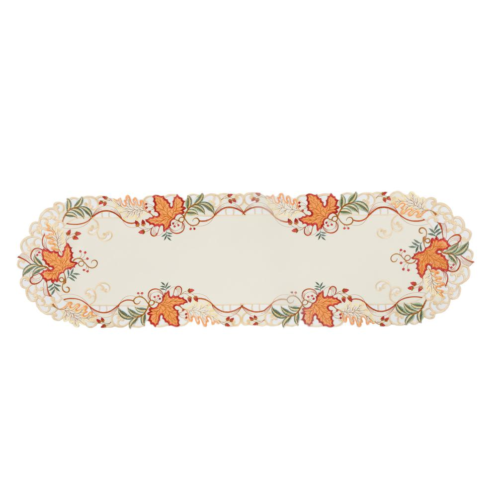 Xia Home Fashions 0 1 In H X 15 In W X 34 In D Falling Leaves
