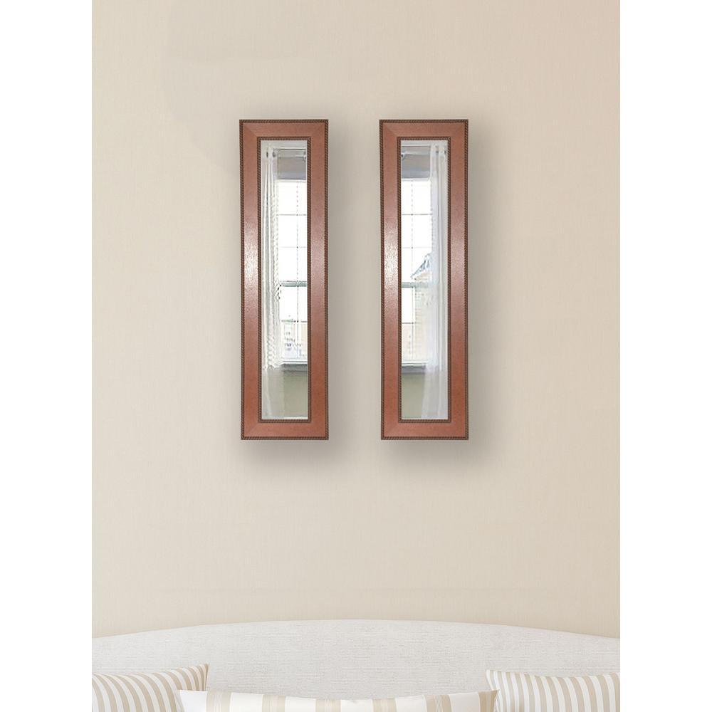 10.5 inch x 28.5 inch Western Rope Vanity Mirror (Set of 2-Panels) by